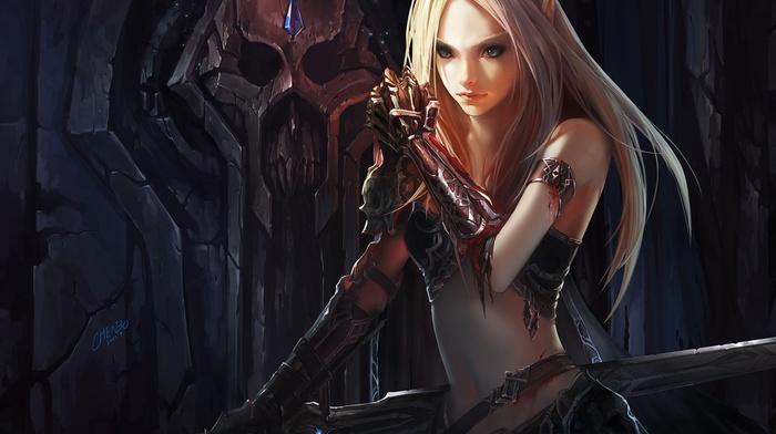blood elves, video games, Warcraft, Chenbo, anime, Blood Elf, elves, World of Warcraft