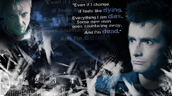 David Tennant, The Doctor, quote, John Simm, Doctor Who, The Master, tardis, Tenth Doctor