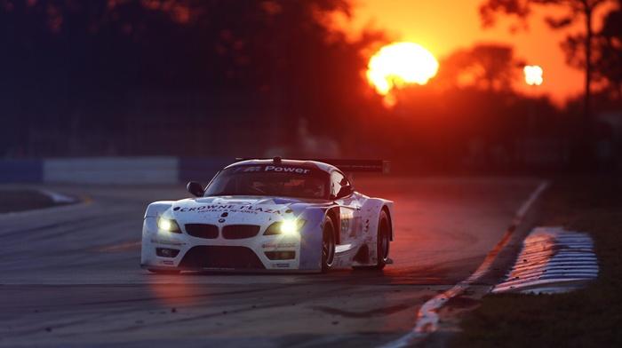 гоночные машины, закат