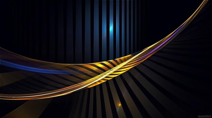 lines, stripes, 3D, colors