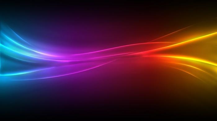 lines, 3D, colors
