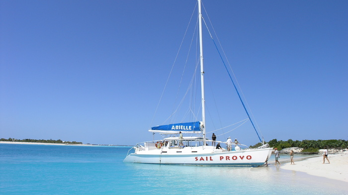 water, sand, ocean, yacht, beach, coast, nature, people, rest, boat