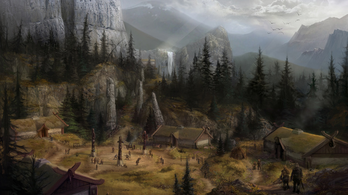 village wallpapers