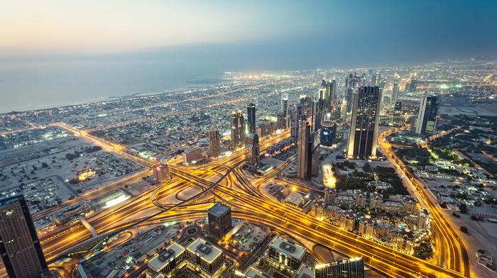 cities, Dubai, skyscrapers, city