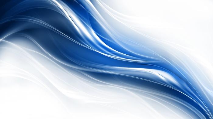 3D, lines, azure