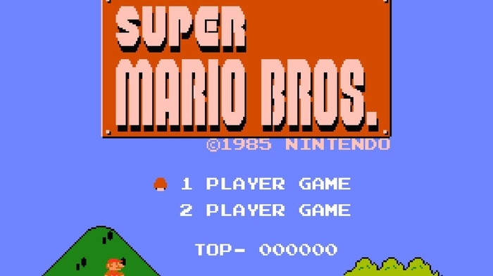 Mario Bros., Super Mario Bros., Nintendo, nintendo entertainment system, video games, Super Mario, pixel art, pixelated
