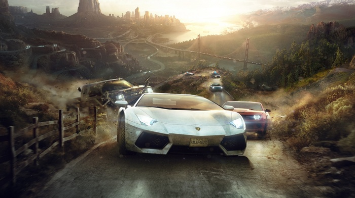 The Crew, video games, Ubisoft, car