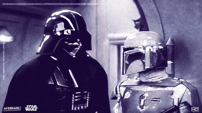 movies, Darth Vader, Boba Fett, star wars episode v, the empire strikes back, Star Wars