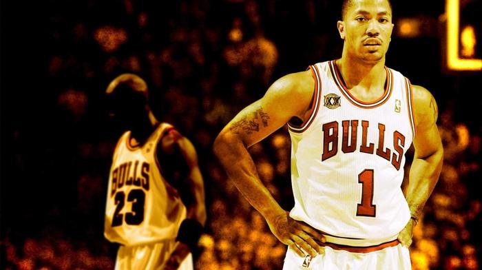 sports, Chicago, NBA, Chicago Bulls, Michael Jordan, Derrick Rose, basketball