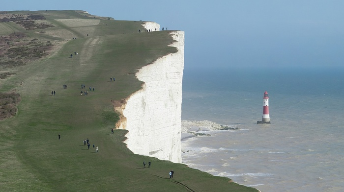 England, sea, Cliffs of Dover