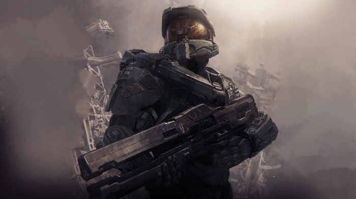 Halo, Halo Master Chief Collection, halo 4, Master Chief, xbox one, 343 Industries, video games, Xbox 360, artwork