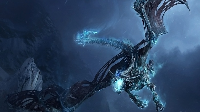 world of warcraft wrath of the lich king, World of Warcraft, dragon