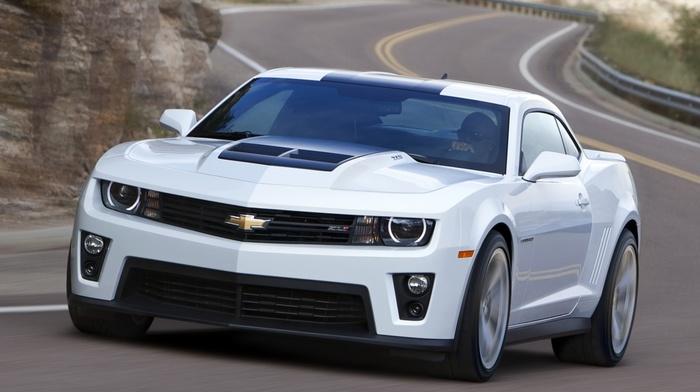 cars, white, camaro, Chevrolet, coupe