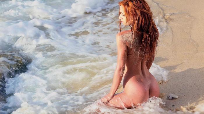surf, red hair, girls