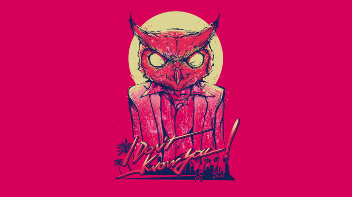 pink, hotline miami, video games