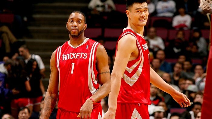 NBA, Houston Rockets, rockets, China, basketball, Tracy McGrady, Yao Ming