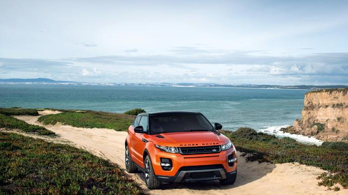 sky, cars, nature, automobile, sand, nature, England, rocks