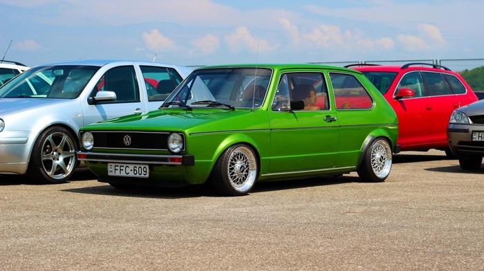 stance, Golf 1, Volkswagen