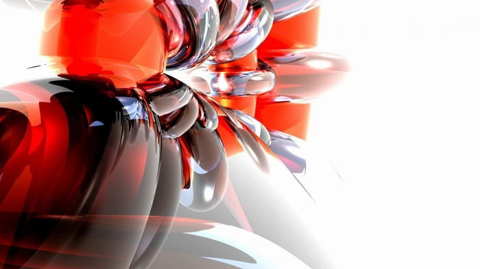 colors, beautiful, 3D, abstraction, figure