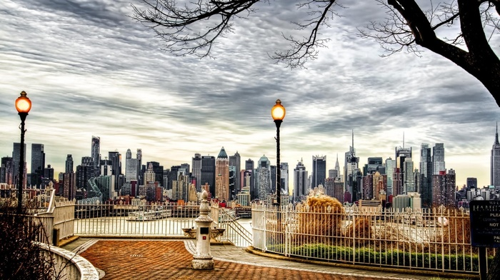 New York City, Manhattan, cityscape, HDR, building