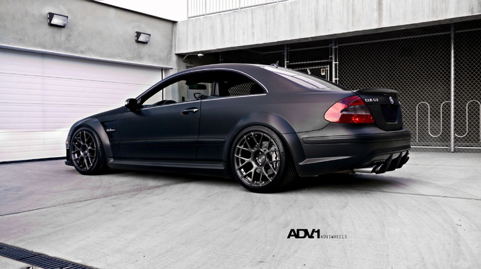 tuning, cars, garage, Mercedes-Benz