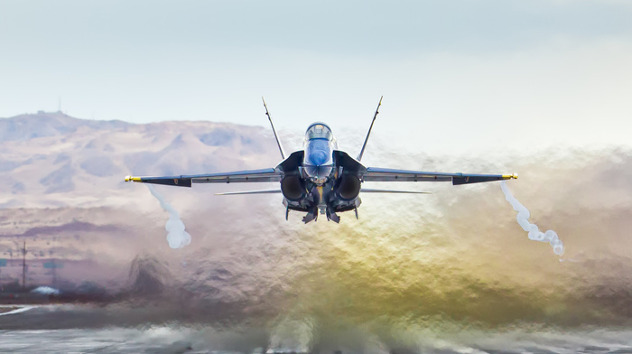 speed, jet fighter, mountain, aircraft, background, airplane, fly, sky