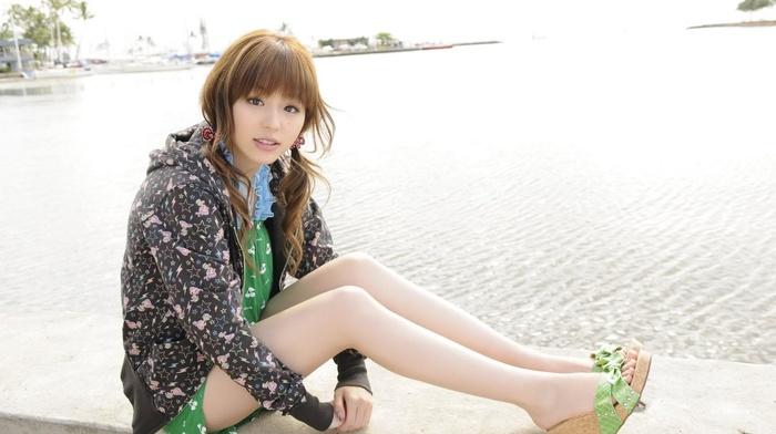 девушка, ножки, ноги, девушка, брюнетка, Азия
