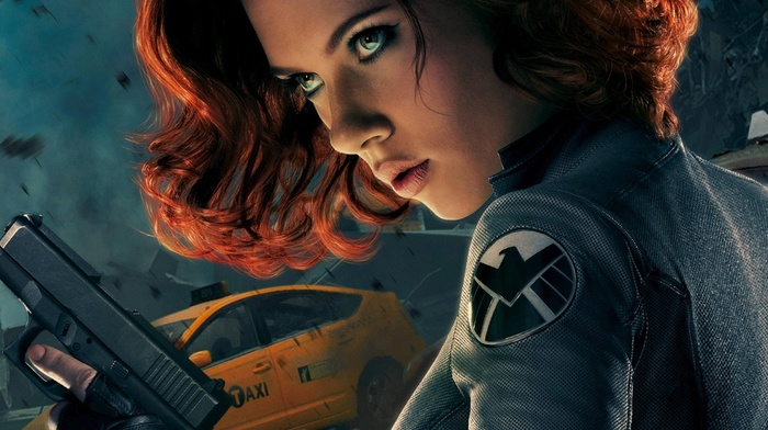 Scarlett Johansson, The Avengers, Black Widow, superheroines