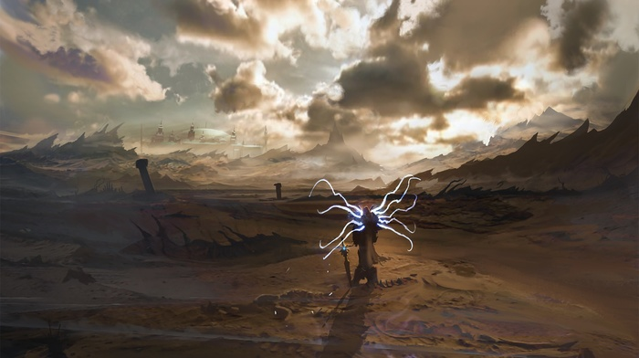 Tyrael Diablo III Concept Art Apocalyptic Exphrasis Video Games Fantasy Download Wallpaper