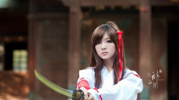 девушка, Азия