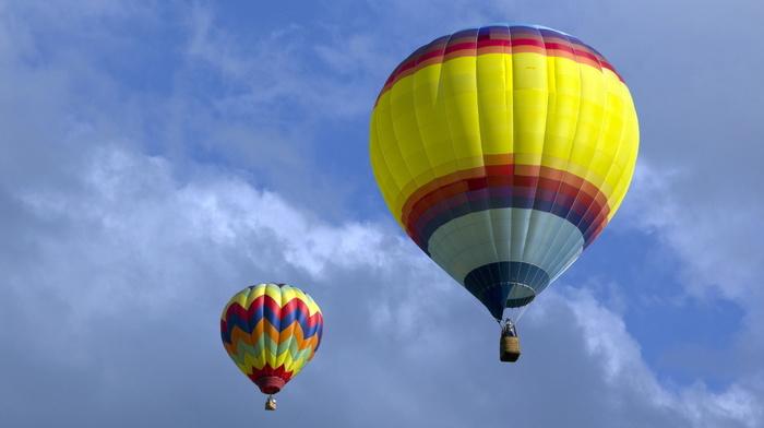sports, stunner, sky, balloon