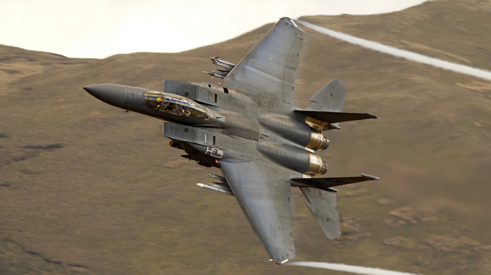 jet fighter, speed, mountain, airplane, fly, aircraft, background