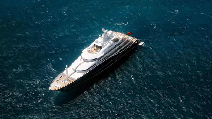 stunner, rest, beauty, yacht, ocean