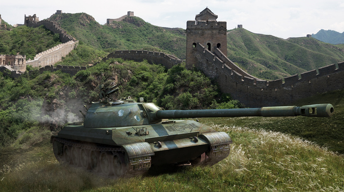 tank, China, nature, gun