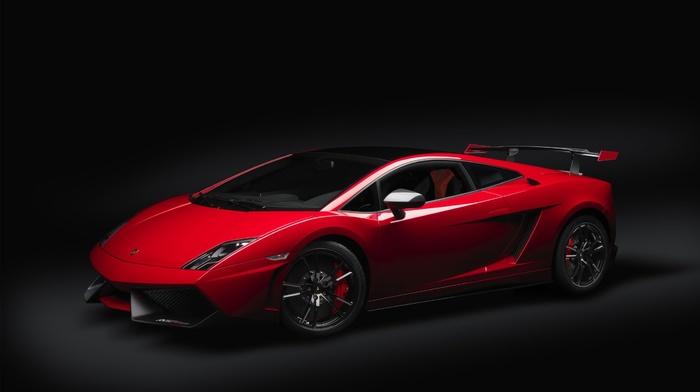 Lamborghini, red, cars, supercar, lamborghini