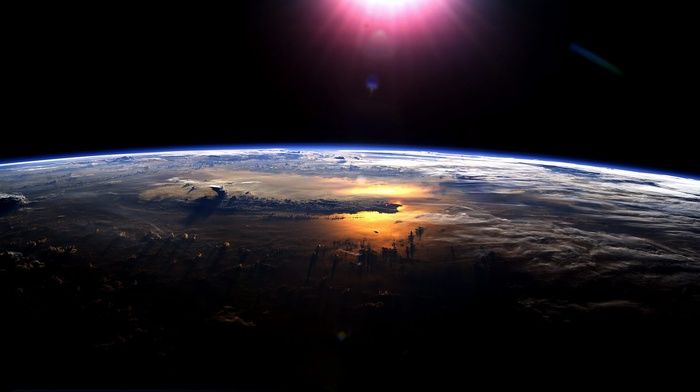 Земля, солнце, космос