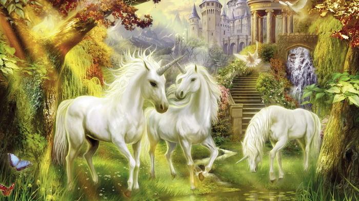 painting, art, stunner, nature, fantasy, beautiful