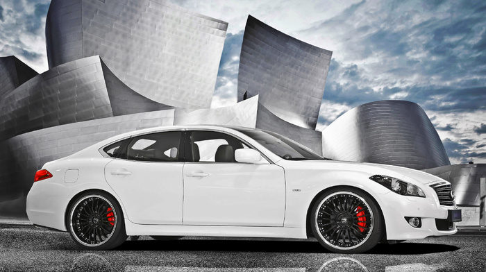 sky, cars, supercar, white, background, tuning