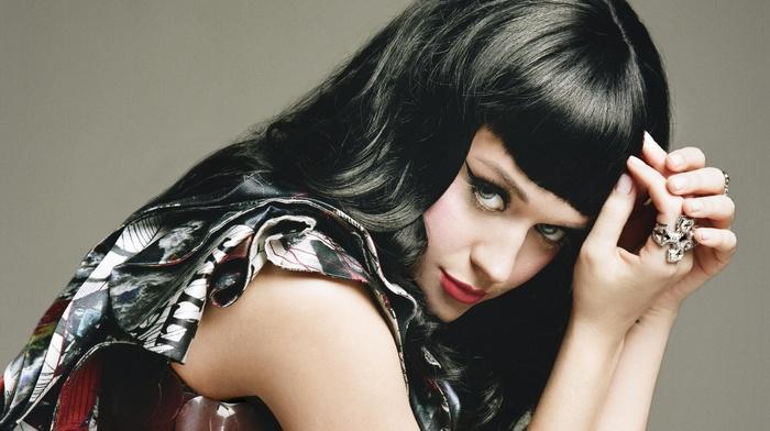 music, girl, makeup, Katy Perry