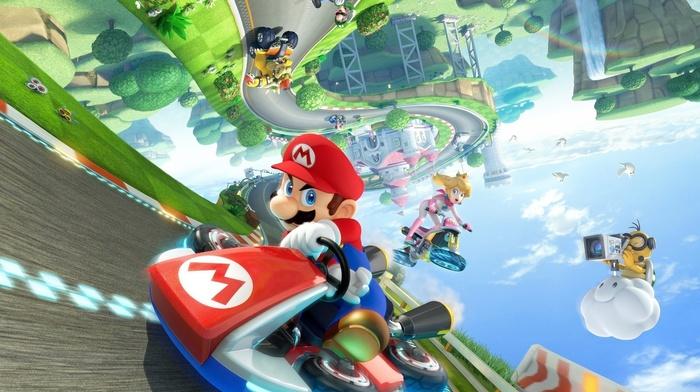 Kart, Mario Kart, bowser, wii u, Super Mario, Princess Peach, Nintendo, video games
