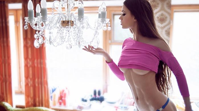boobs, girls, brunette, sexy, girl, photo, room