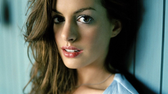 girl, Anne Hathaway, actress