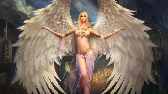 game, fantasy, art, angel
