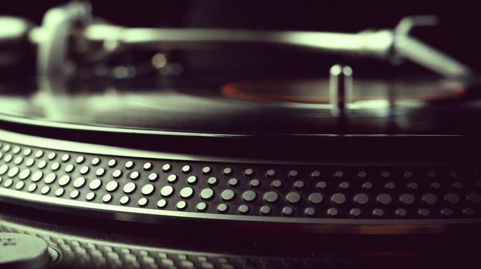 turntables, music