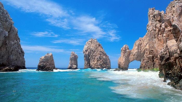 rest, surf, sky, beauty, stunner, rocks, ocean