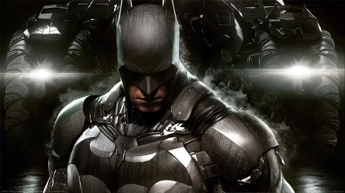 Gotham City, Batman, batmobile, Batman Arkham Knight, Rocksteady Studios, video games
