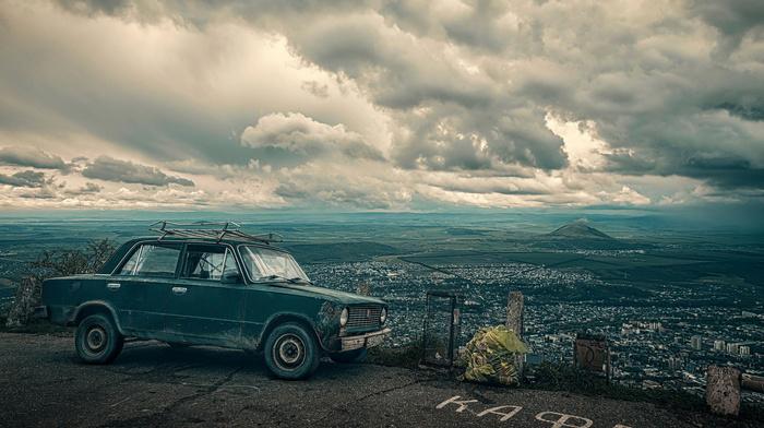 view, landscape, car, cities, city