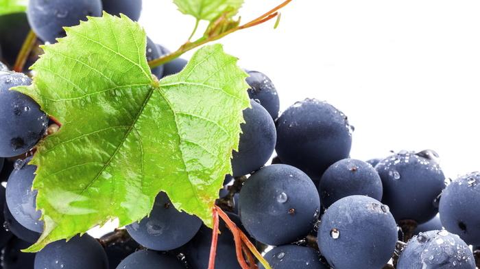 виноград, листья, вкусно