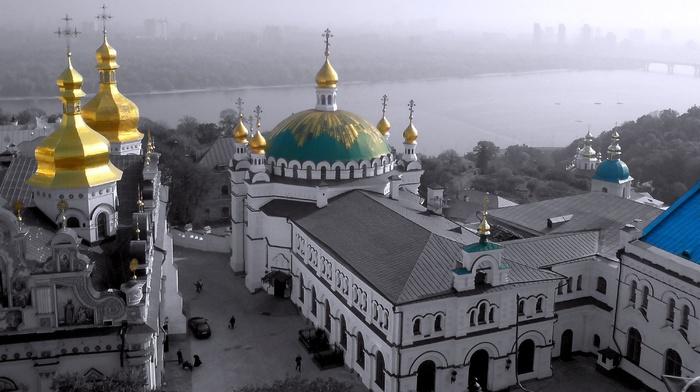 city, background, Ukraine, people, cities, river