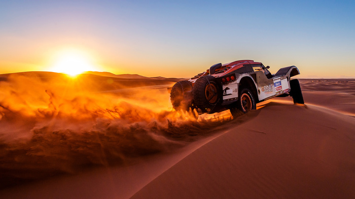 auto, sand, car, sports, 2014, Sun, sunset